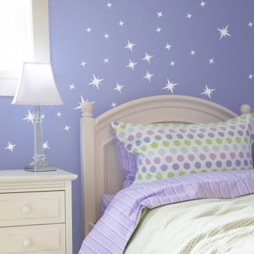 Kit de 40 stickers étoiles