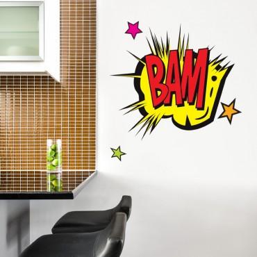 Sticker Comics BAM
