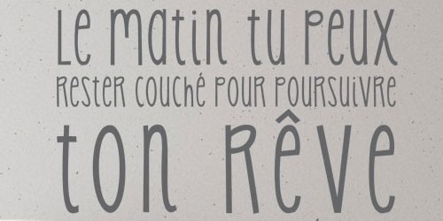 Stickers Texte et Citations