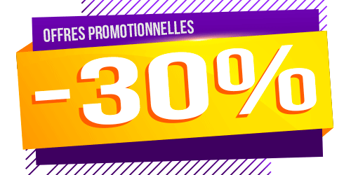Les offres à -30%