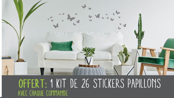 Votre kit Papillons Offert