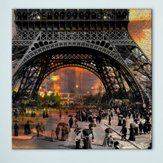 Tableau Paris Belle Epoque - Gali Art ©