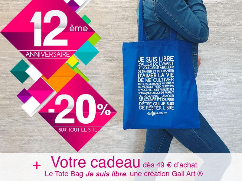 Promo 20% + Cadeau
