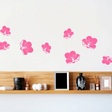 Stickers fleurs sakura